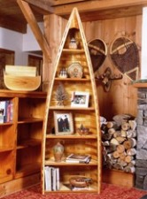 Canoe Bookcase - 7 ft 8' Eddie Bauer Style