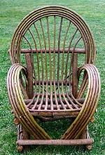 Rustic Furniture - Bent Willow Chair